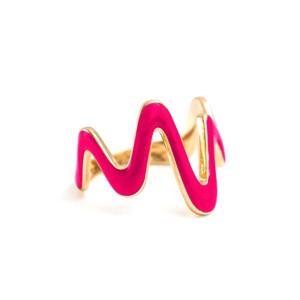 Waves Ring
