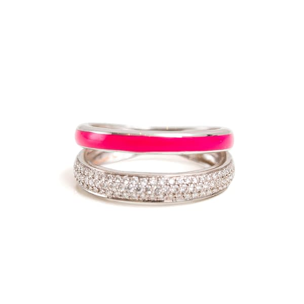 Letters & Lines Ring