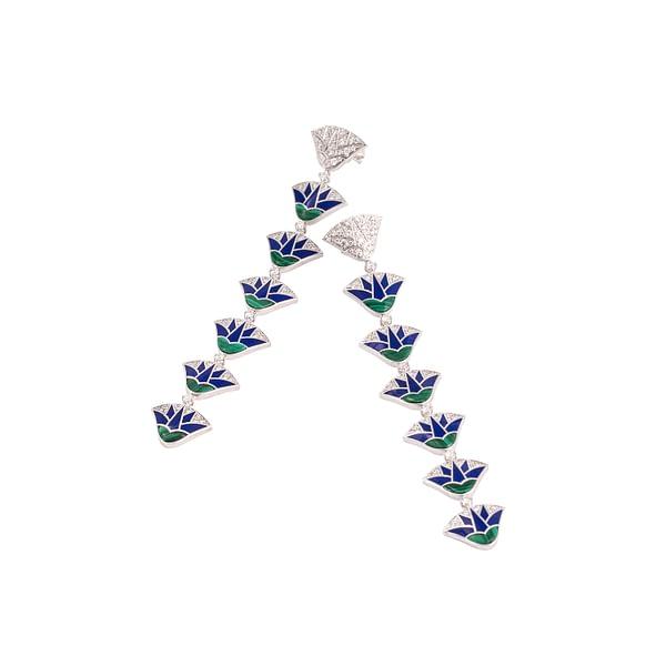 The Lotus Earrings