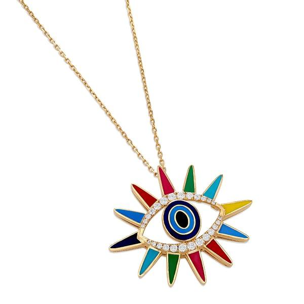 Crazy Eyes Pendant