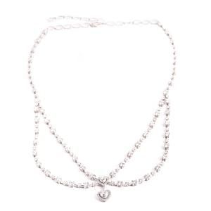 Diamond Hearts Necklace