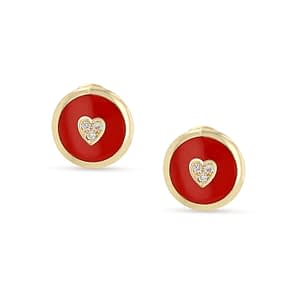 Crazy Hearts Earrings