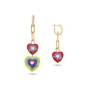 Wonder Hearts Earrings
