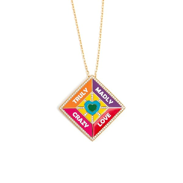 Crazy Madly Love Pendant