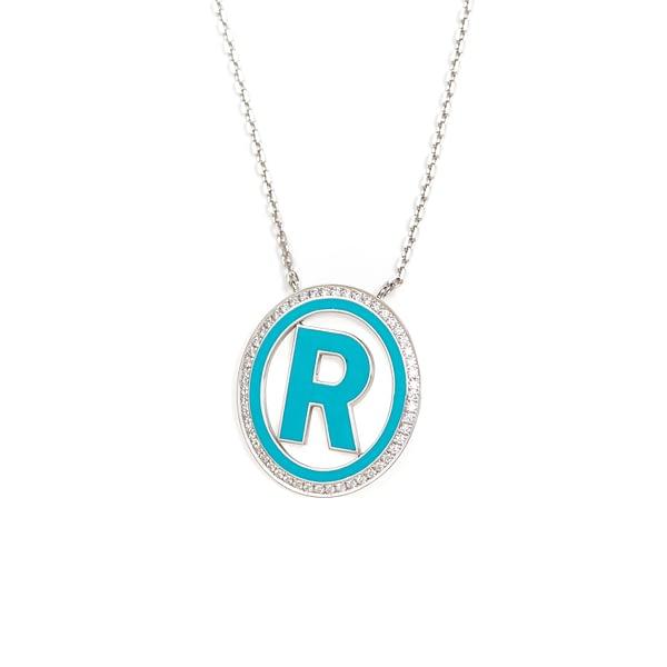 """Letter """"R"""" Pendant"""