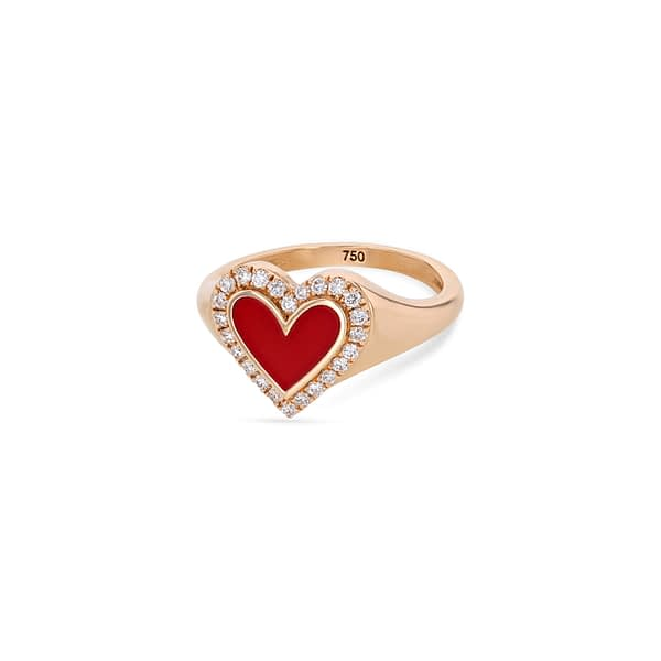 Crazy Hearts Ring