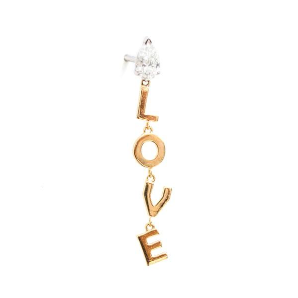 Letters Earrings (LOVE)